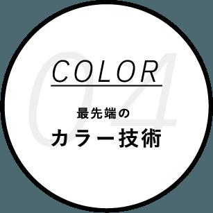 最先端のカラー技術